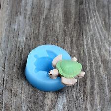 Nicole FDA Sea Turtle Shaped Gum Candy Molds Chocolate Fondant Decoration Moulds