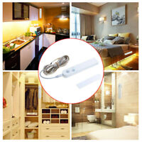 Motion Sensor LED Light Strip Under Cabinet Lamp For Cupboard Stairs Flexible