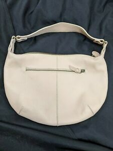 GAP JEANS 1989 PURSE HANDBAG BAG HOBO SHOULDER PINK LEATHER MEDIUM