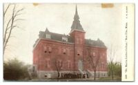 Early 1900s Dr. Martin Luther College and Students, New Ulm, MN Postcard