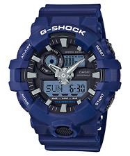 New Casio G-Shock GA700-2A Super Illuminator Ana-Digital 3D Blue Men's Watch
