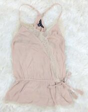 NWT American Eagle Outfitters Cami Blouse Light Pink Blush Spaghetti Straps S