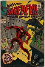 Daredevil #31-32 (Marvel 1967) FN-, VG+: Cobra/Mr. Hyde