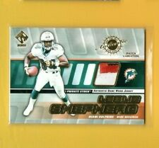 2472 	2001 Private Stock Game Worn Gear Patch #87 Leslie Shepherd DOLPHINS #/250