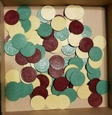 2004 Yahtzee Texas Hold'em Board Game Replacement Parts/Pieces-100 Poker Chips