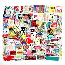Mixed Sticker Bomb, Random Vinyl Decal Lot, Skateboard Laptop Luggage Graffiti