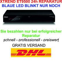 Xtrend ET9500 Reparación - Wenn Nur Noch Die Azul Led Intermitente - No Riesgo
