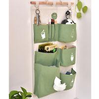 Multilayer Home Hanging Storage Bag Organizer Container Bathroom Door Wardrobe