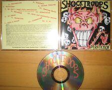 CD Shock Troops - Perfektion --- OI Punk Böhse Onkelz Broilers