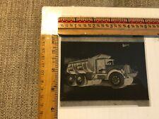 Vintage photo negative Sterling Motor Trucks Dump U.S. T.V.A.