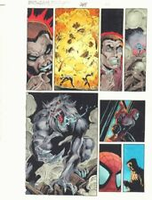 Spectacular Spider-Man #248 p.20 Color Guide Art - Man-Wolf by John Kalisz
