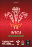 Wales v England 6 Nations Rugby 27-2-21 - Official Electronic Programme