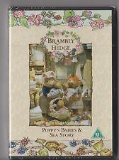 BRAMBLY HEDGE POPPYS BABIES AND SEA STORY DVD KIDS SEALED