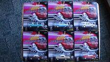 Johnny Lightning American Chrome American Beauties 6 Car Set NEW