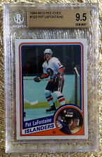 84-85 O-PEE-CHEE PAT LAFONTAINE RC BGS 9.5...HOF/OLD LABEL..CARDREGISTRY