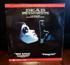 Dead Presidents Widescreen Double Laserdisc