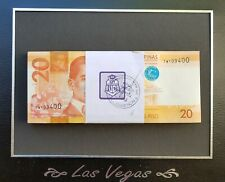 Middle East 100 X 20 ( 2000 Rails) Paper money Banknotes UNC Superb
