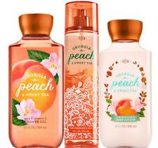 Bath & Body Works Georgia Peach & Sweet Tea Trio Gift Set