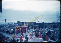 Woonsocket RI Coca Cola Sign 1950s 35mm Slide Red Kodachrome Beauchemin Lumber