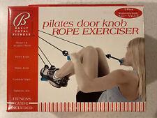Bally Total Fitness Pilates Door Knob Exerciser Complete Body Tone