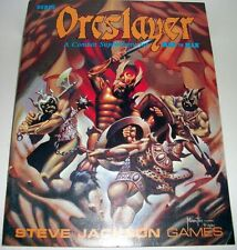 GURPS Orcslayer: A Combat Supplement 1985 1st Edition Good Condition