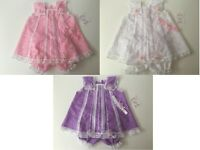 Baby clothes/dress 0-3 and 3-6 months handmade