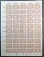 Germany Weimar Republic 1923 ☀ 400 Mark Mi 250 with Han ☀ MNH**
