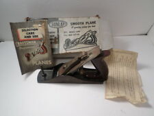 Vintage Sears Dunlap 3726 Woodworking Plane With Box And Papers