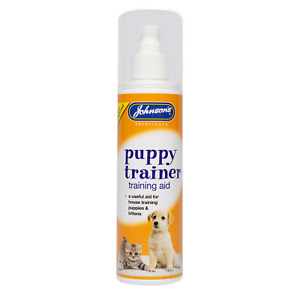 JOHNSONS Puppy & Kitten training Spray 150 ml Useful aid for house training