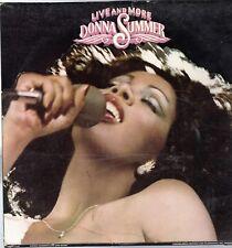 Donna Summer Vinyl Lp Casablanca Records, 1978, Nblp-7119, Live & More ~ Vg+