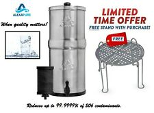 New Alexapure Pro Water Filtration System with filter 99.9999% 206 contaminants