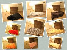 100CM Genuine Australian Sheepskin Lambskin Rug Pelt Select Your Own Colour
