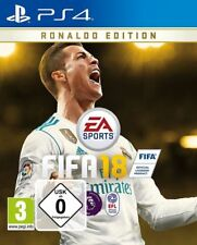 FIFA 18 RONALDO EDITION SONY PS4 NEW SEALED PAL UK ENGLISH PLAYSTATION 4