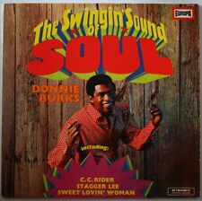 Donnie Burks The Swinging Sound Of Soul 1965 LP