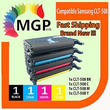 4 Compatible Toner for Samsung CLT-508L 508L CLX6250FX CLP620ND