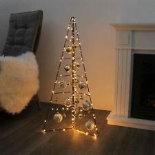 Weihnachtsdeko H100cm Aufsteller Weihnachtsbaum Christbaum Tannenbaum Metall