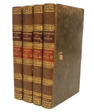 Mysteries of Udolpho A Romance by Ann Radcliffe - 4 Vol Set - 1823