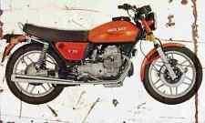 MotoGuzzi V50 1976 Aged Vintage SIGN A3 LARGE Retro