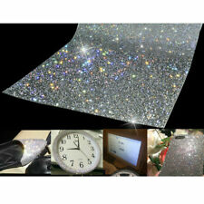 Crystal Diamond Rhinestone Sticker Sheet Diamante Self Adhesive Decal DIY Craft