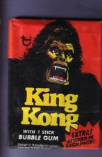 1976 Topps King Kong Movie Trading Card Wax Pack From Original Box!