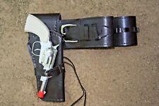 Holster Belt and toy cap gun Light Duty Smooth Polyurethane BROWN  New 70301