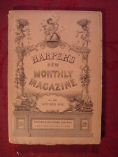 HARPER's October 1892 Tiger Hunting Mysore India Seine Paris Laurence Hutton