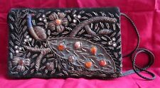 Old Collectible Beautifully Hand Crafted Ladies Shoulder Purse