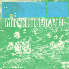 "FUNGUS - Farewell To Tarwathie (RARE 1973 DUTCH FOLK SINGLE 7"" WITH PS)"