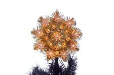 Christmas Tree Topper Gold White Lights Stars Window Decoration Holiday Xmas NEW
