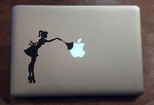 Sexy Maid Vinyl Sticker Decal Macbook Pro window laptop USA hot love funny chick