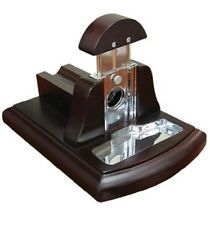 Desktop Guillotine Cigar Tabletop Cutter w/ Catch Tray by Prestige Import Group