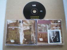 u2 rare cd(2 albums on 1cd ) the unforgettable fire + wide awake in america/rare