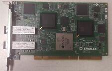 Emulex Dual Channel 2gb Hba Adapter Card Fc1010491-01Revb Hp Fibre Channel Host