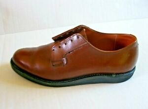 Red Wing Brown Leather Oxford Size 8.5 Style C 9401-2